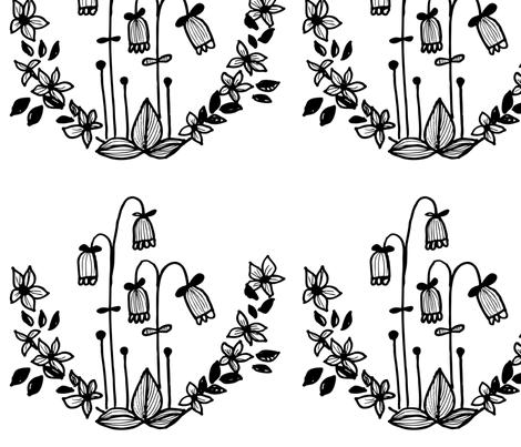 swedishflora fabric by elvelyckan on Spoonflower - custom fabric