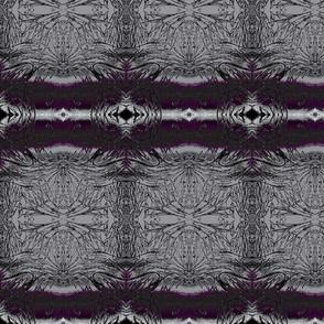 Nocturnal Merlot Abstract Marginalia