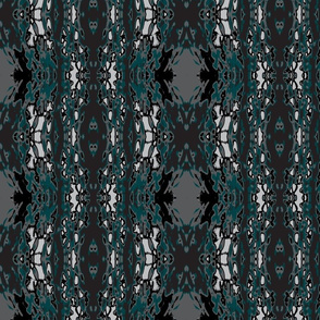 Nocturnal Teal Diacronic Scale