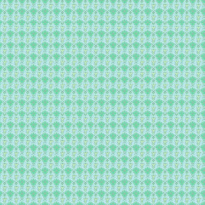 Fish green background