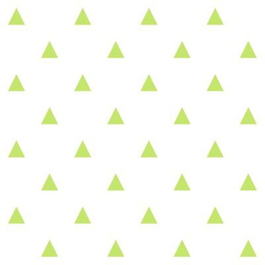 Green Triangles - Small