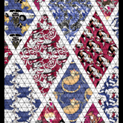 Child-Sized Cheater Quilt Top