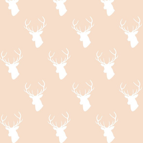 Pale Blush Deer