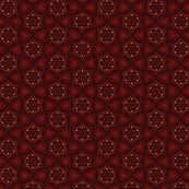 Christmas Stars in Deep Red