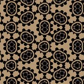 Tribal Black Dots and Spots