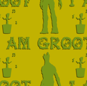 I am Groot (Yellow-Green)