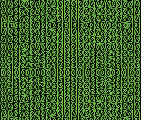 Vertica melted stripes black and green