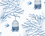 Branches_blue_on_white_background_birdcage_swallows_seamless_thumb