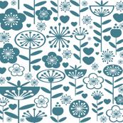 My Fair Garden - Blue