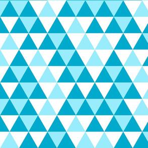 Triangle Blues White