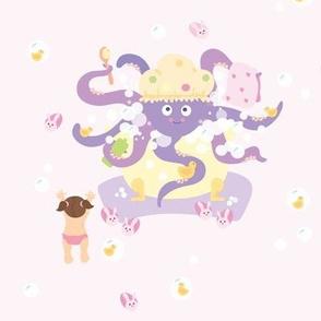 Bath Time - pink