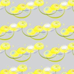 Dandelion Fabric Small