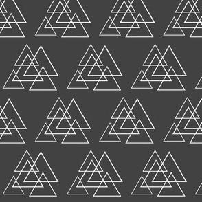 Charcoal Trinagles