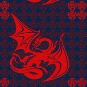 Red Dragon -navy