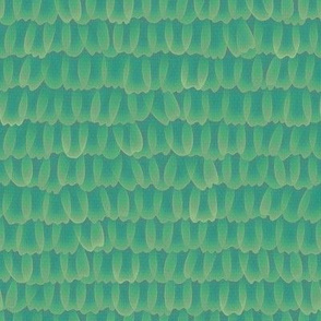 butterfly scales - green