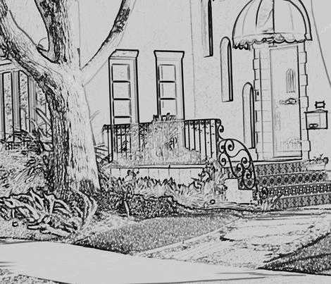 Neighborhood1 fabric by ericawaddell on Spoonflower - custom fabric