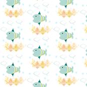 Blue Fish Stars
