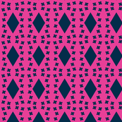Architectural Elements in Udaipur - indigo and hot pink