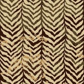 herring bone tweed cafe mocha