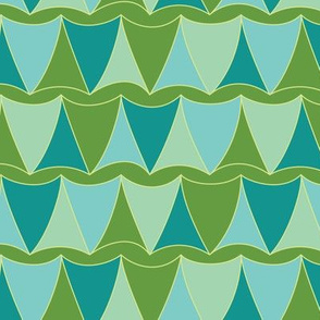 Curvy Trilaterals (green-blue)
