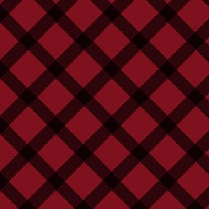 Red Diamond Plaid