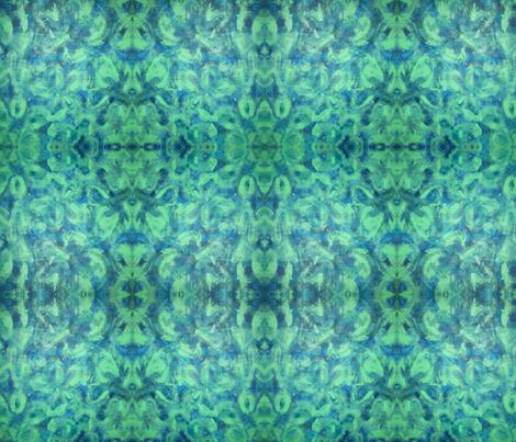 Green Paisley Design
