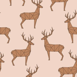 Deer - Peach Brown