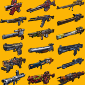Borderlands 2 Weapons