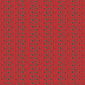 Ladybug Black Dots Small