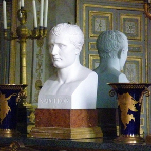 Bust of Napoleon in his study at the Château de Compiègne