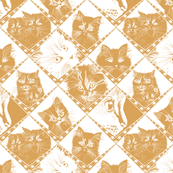 Damask_Cats_Gold_d9a359