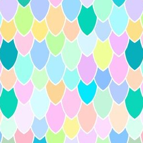 Mermaid Scales Rainbow Pearl, Smaller