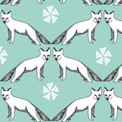Arctic Fox - Pale Turquoise
