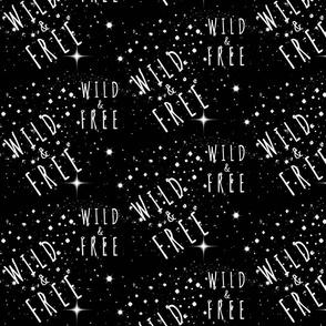 Wild & Free -black