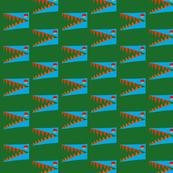 Blue Aligator