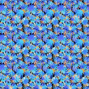 Blue Cannabis