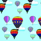 Hot Air Balloon Sky version 2