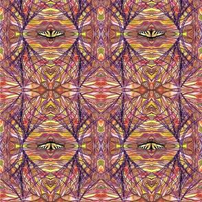 Tiger butterfly Mandala Webdpi