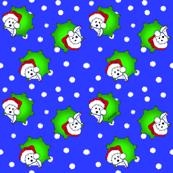 Christmas KiniArt Westies SMALL