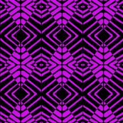 Tribal Purple and Black