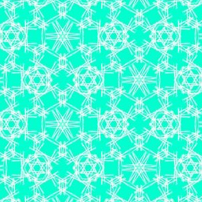 Starry Doodle Medium Mint