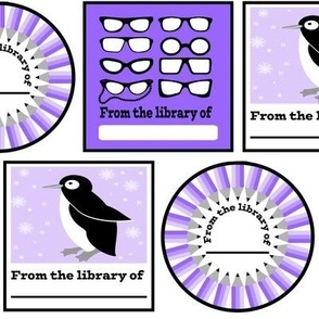 Book plate stickers