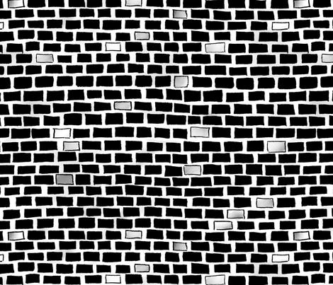 city-brick-wall-bw