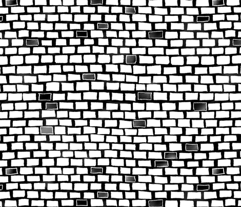 City White Brick wall