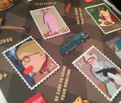 A Christmas Story Fabric
