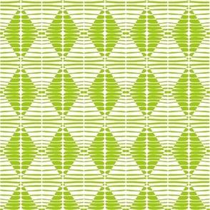 Diamonds Lime Green