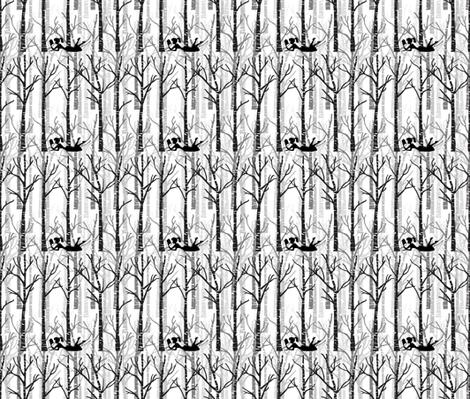 birches and books
