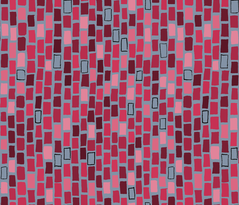 City Bricks in Red