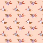 Pansy Dots_Peach