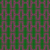 Zebras Pink Green